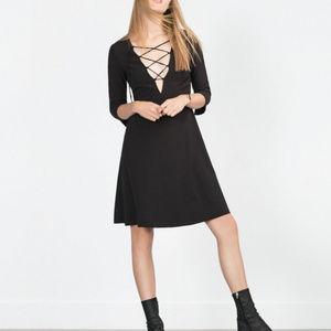 Zara Basic Black Dress (S)
